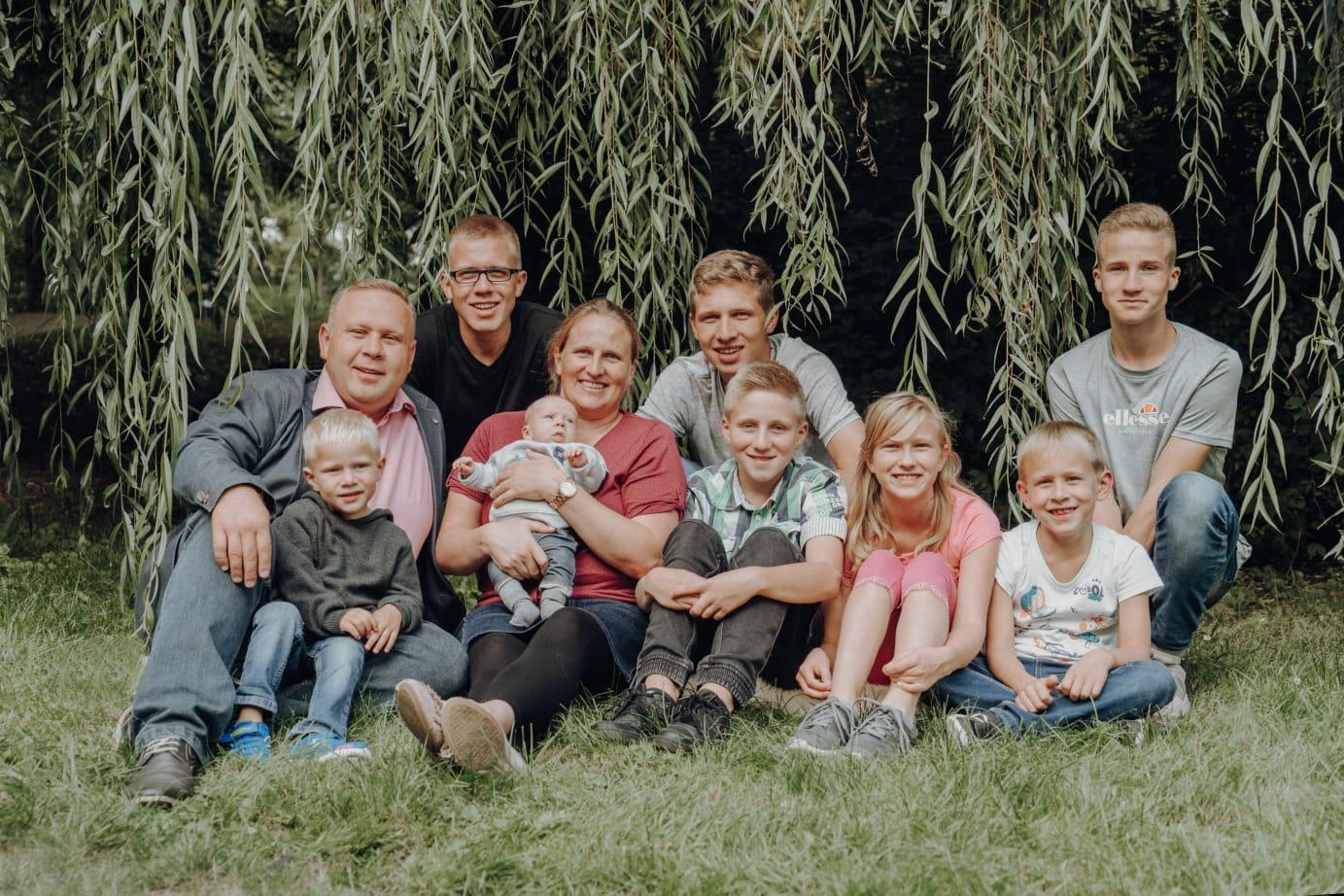 Familie Renpening – 8 Kids