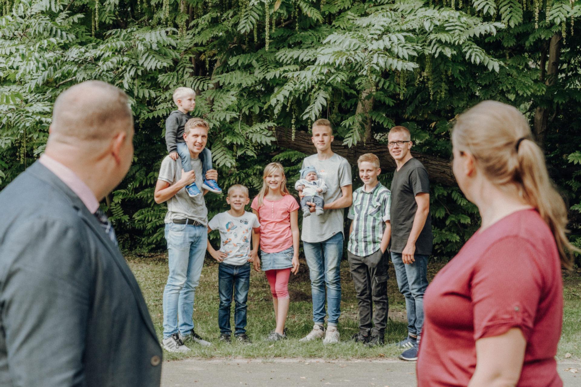 Familie Renpening – Die Großfamilie
